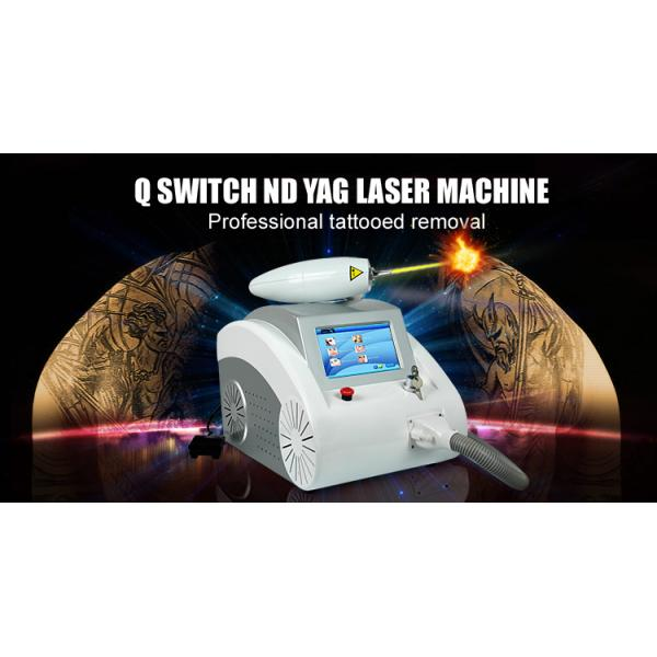 4.3 inches touch screen portable nd yag laser tattoo removal machine
